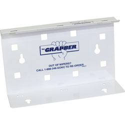 K-C Professional® Grabber Cleaning Wipe Dispenser, White, Each