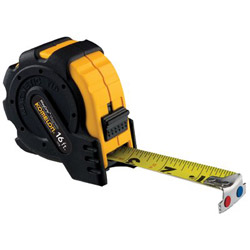 "Komelon Usa 1"" x 16' Steel Tape Measure Mag Grip Rubber Jacket"