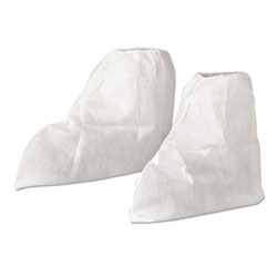 Kleenguard® A20 Boot Covers, MICROFORCE Barrier SMS Fabric, White, 300/Carton