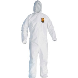 Kleenguard® A20 Breathable Particle Protection Coveralls, Zip Closure, 2XL, White