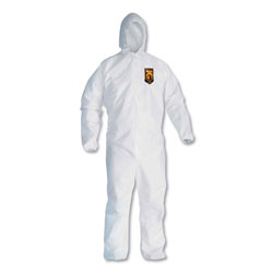 Kleenguard® A20 Breathable Particle Protection Coveralls, Zip Closure, 3XL, White