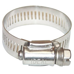 "IDEAL 1/2"" -1"" All S Micro-gear Clam 5/16"" band W"