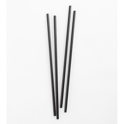 Netchoice 5 in Black Unwrapped Stirrer, Case of 10,000