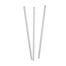 "Netchoice 5"" White Unwrapped Stirrer, Case of 10,000"