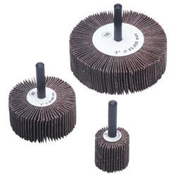 "CGW Abrasives 1"" x 1x1/4"" Aluminum Oxide 80 Grit Flap Wheel"