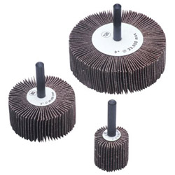 "CGW Abrasives 2x1"" x 1/4"" Aluminum Oxide 40 Grit Flap Wheel"