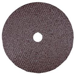 "CGW Abrasives 4-1/2"" x 7/8"" 60 Grit Aluminum Oxide Resin Fibre Disc"