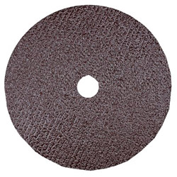 "CGW Abrasives 5"" x 7/8"" 36 Grit Aluminum Oxide Resin Fibre Disc"