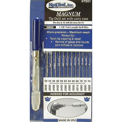 King Tool Ki Ktd01 Magnum Tip Drill Set