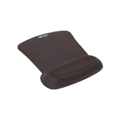 Belkin F8E262-BLK WaveRest Gel Mouse Pad w/Wrist Pillow, Black