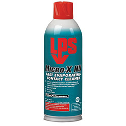LPS Micro-X NU Fast Evaporating Contact Cleaners, 11 oz Aerosol Can