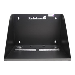Startech 17in Deep Vented Server Room Equipment Wall Mount Shelf - wall mount cabinet