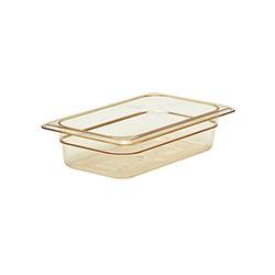 Cambro Food Pan 1/4 X 2 in H-Pan® Amber