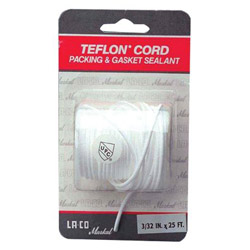 "Markal 9/32"" x 9' La-co Cord Of Teflon for Packing And"