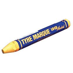 Markal Yellow Tyre Marque Crayon Rubber Mark
