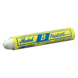 "Markal Yellow B3/8"" Paint St Marker"