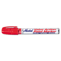 Markal Valve Action Paint Marker, Red