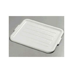 "Carlisle Foodservice Products Gray Comfort Curve Bus Box, 20"" x 15"" x 5"""