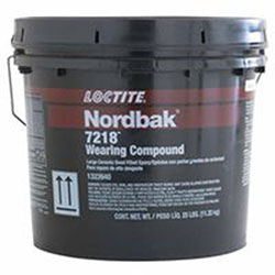 Loctite Nordbak Wearing Compound, 25 lb Plastic Pail