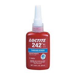 Loctite 0.5ml Threadlocker 242 Removable Strength