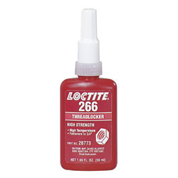 Loctite 266 Threadlocker High Temp/high Strength 50ml