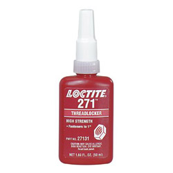 Loctite 50-ml Threadlocker 271high Strength