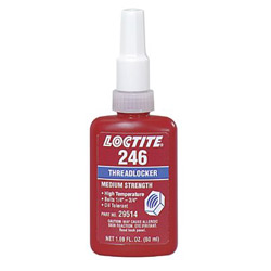 Loctite 246 Threadlocker High Temp Med Strength 50 Ml