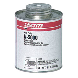 Loctite N-5000 1lb w/Brush Top Can Nickel Anti Seize