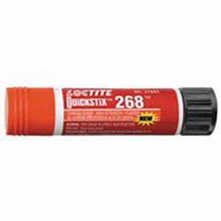 Loctite QuickStix 268 High Strength Threadlockers, 9 g, 3/4 in Thread, Red