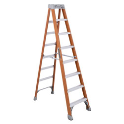 Louisville Ladder 8' Fiberglass Advent Step Ladder