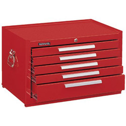 Kennedy 10329 Mechanic Chest 5 Drawer Smooth Red