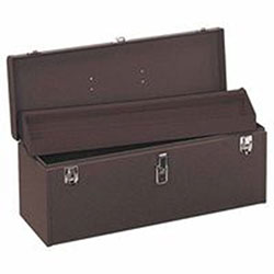Kennedy 24in Professional Tool Box, Brown