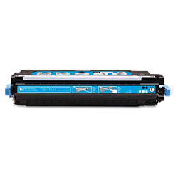 HP 501A Cyan Toner Cartridge, Model Q6471AG, Page Yield 4000