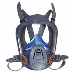 MSA Advantage 3200 Full-Facepiece Respirator, Large, Silicone, Particles and Gases