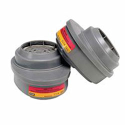 MSA Advantage® Respirator Cartridges, GMC, P100, Gray, 2 per package