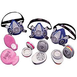 MSA Advantage® Respirator Cartridges, Low Profile, P100, Magenta, 2 per package