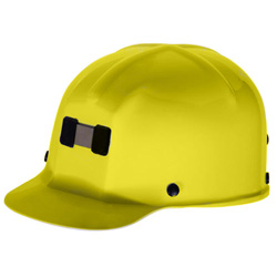 MSA Yellow Cap Miner Lamp Ho