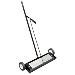 Magnet Source Magnetic Floor Sweeper, With Release, 24in