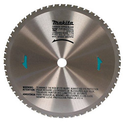 "Makita 12"" x 60 Tooth Dry Cut Metal Blade"