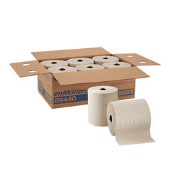 enMotion 8 in Recycled Paper Towel Roll, Brown, 89440, 700 Feet Per Roll, 6 Rolls Per Case
