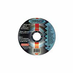 Metabo Wheel, 4 1/2 in Dia, 0.45 in Thick, A 46 U Grit Stainless Steel
