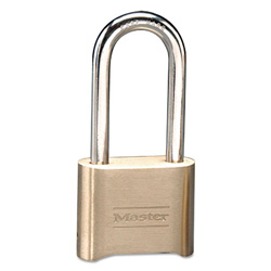 "Master Lock Company Changeable Combination Padlock w/2-1/4"" Sh"