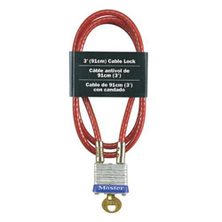 Master Lock Company 3ft Cable