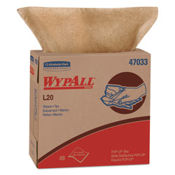 WypAll® L20 Kimtowel Cleaning Wipes, 10 Packs of 80