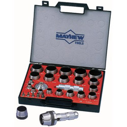 Mayhew Tools 350us 27 Piece Hollow Punch Set