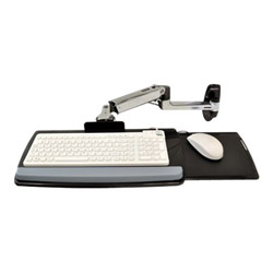 Ergotron LX Wall Mount Keyboard Arm - keyboard/mouse arm mount tray