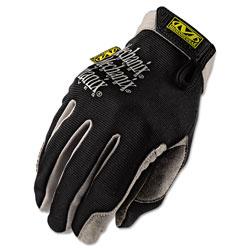 Mechanix Wear Utility Gloves, Large, Black