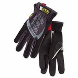 Mechanix Wear FastFit Gloves, Black, Medium