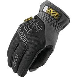 Mechanix Wear FastFit Gloves, Black, Large