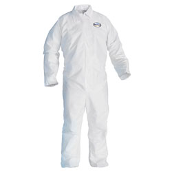 Kleenguard® A20 Breathable Particle-Pro Coveralls, Zip, X-Large, White, 24/Carton